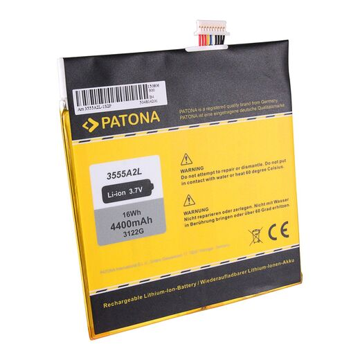 PATONA Akku f. Amazon Kindle Fire D01400 3555A2L DR-A013 E3GU111L2002 GB-S02-3555A2-0200 QP01