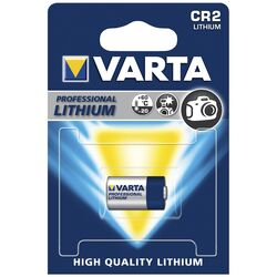 Lithium-Photobatterie VARTA CR 2, 1er-Blister