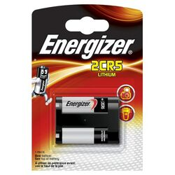 Energizer 2CR5, Lithium Photo 6 Volt 1er Blister
