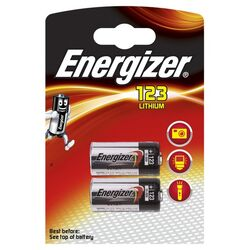 Energizer EL123AP/ CR17345 Lithium Photo 3 Volt 2er Blister