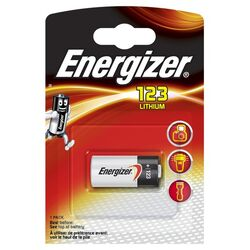 Energizer EL123AP / CR17345 Lithium Photo 3 Volt 1er Blister