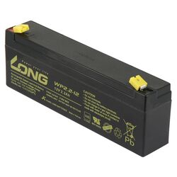 Bleiakku KUNG LONG WP2,2-12 12V/2,2Ah, VdS, 178x34x60mm,...