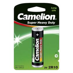 Duplex-Stabbatterie CAMELION Super Heavy Duty 3V, Typ 2R10